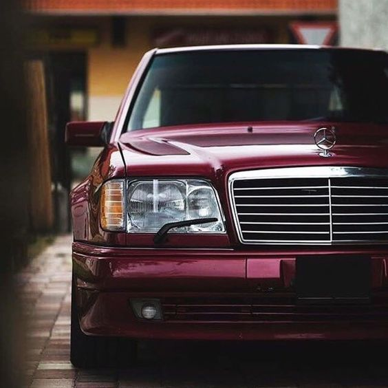 w124 front